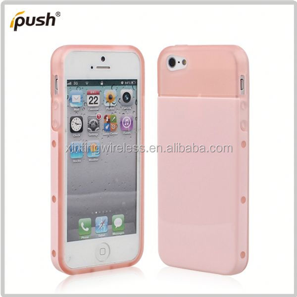 new fashion cell phone case pc tpu combo for iphone5 rubber bumper case for iphone5