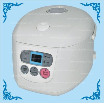 LED display Multifunction deluxe rice cooker