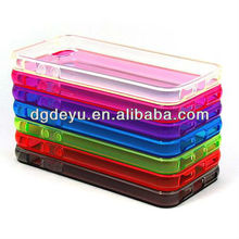 0.05mm or 0.03mm clear ctystal cases for iPhone