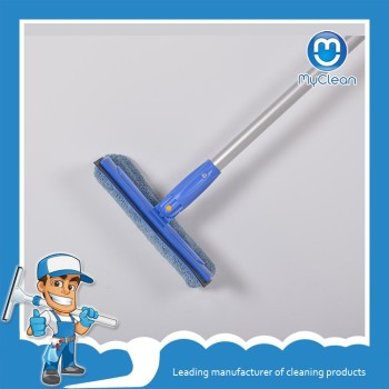 rubber window frost film wrap squeegee with telescopic aluminum pole