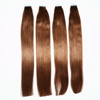 Super Star Double Drawn Hair Extensions Micro Tape And Hair Extension 100 Human Hair Weave Brands