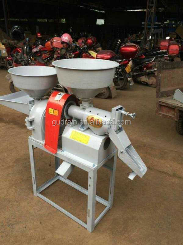 Small model mini home use multi-functional portable rice mill for sale