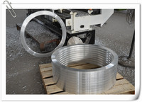 Forging aluminum flange from company in China