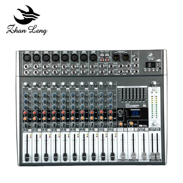 Good quality 6ch dj usb mixer professional microphones for recording and singing