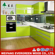 MFC/MDF/ Plywood carcase new model kitchen cabinet