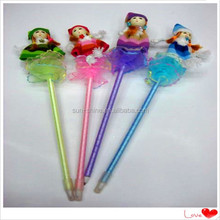 cute colorful doll ball point pen