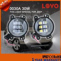 "2016 4"" fog light for jeep, With day time running light 4 inch 30w fog light for jeep"