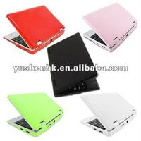 Mini Laptop with CPU WM8502 and 5 colors 7 Inch screen Hot sale