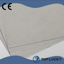 White PVC Gypsum /Board Gypsum ceiling tile/Gypsum Ceiling Board