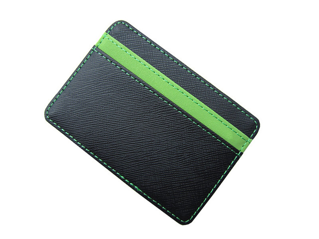 New arrival High quality PU leather magic wallets men fashion designer purses retail and wholesale Model:FGS01