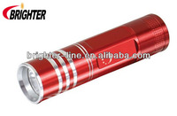 1W AAA Battry Mini Aluminum LED Flashlight