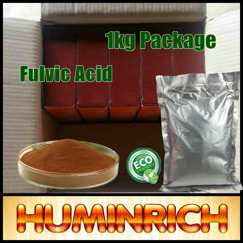 Huminrich Organic Fertilizer For Watermelon High Quality Fulvic Acid Mineral Powder Supplement