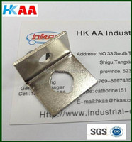 high precision customized l shape metal bracket,high polished l bracket stainless steel,90 degree small l brackets with 2 holes