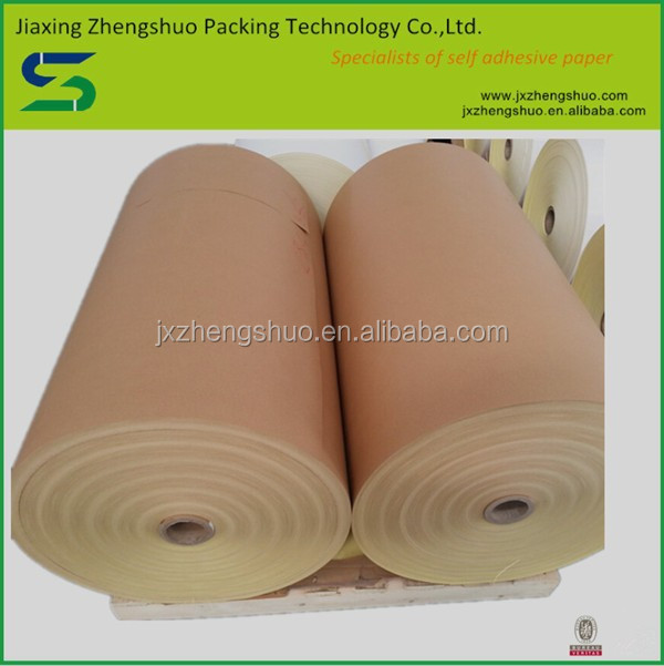 Factory direct sale offset printing adhesive paper kraft