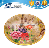 well design deep Round brand name plastic vegetable tray,plastic food tray