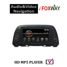 Foxway Limited top selling mazda 6 car pc with 800x480 pixels resolution