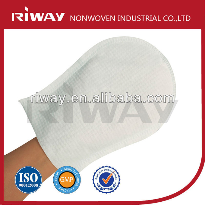 Disposable-body-wash-gloves