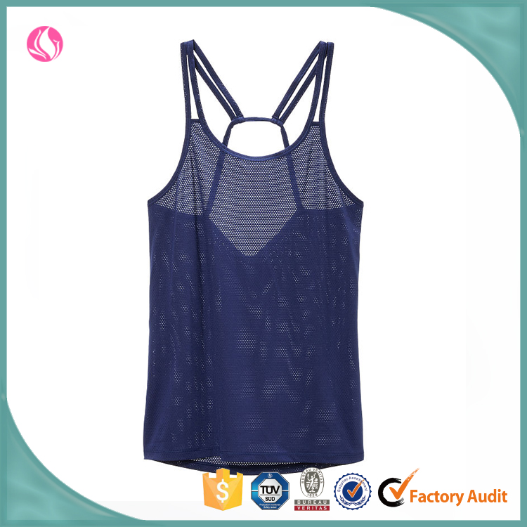 wholesale sexy women camisole plain yoga fitness sports wear