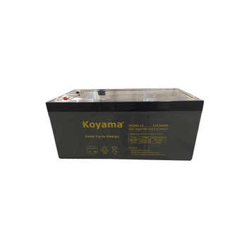 Good Quality 12V260Ah Deep Cycle Battery Golf Cart Battery DC260-12 Motive Marine Battery