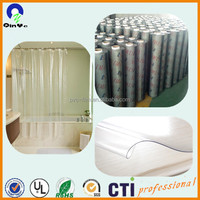 0.3mm Soft Curtain Food Packing Printing Thin Flexible PVC Film
