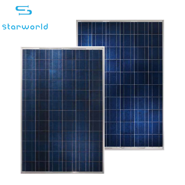 China factory PV module 250W 260W 270W 280W 300W Polycrystalline Solar Panel for home use