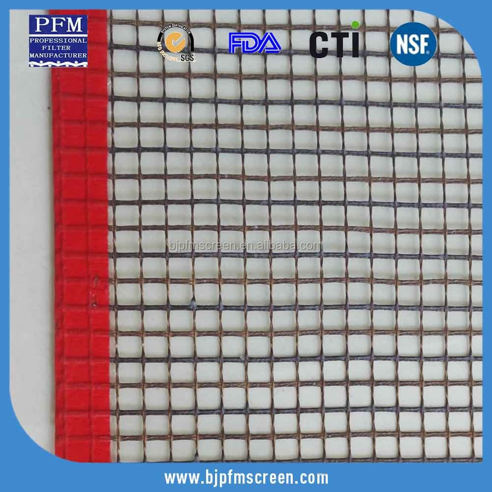 Chinese high quality high temperature teflon mesh screen conveyor belts