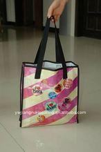 Wholesale reusable promotion printed European shopping bags