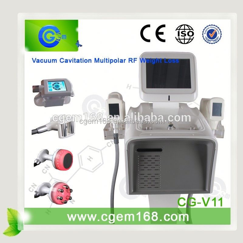 CG-V11 cellulite treatment toronto / vela 2 / bipolar rf ultrasonic liposuction cavitation
