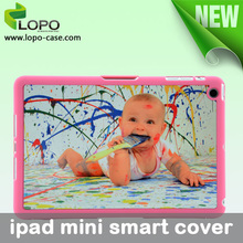 high quality smart cover 2D sublimation blank printing for DIY for ipadmini