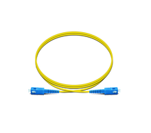 various of opticl cable assemblies SC/UPC to SC/UPC 9/125 simplex fiber optic patch cord jumper