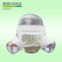Import Printed Disposable Adult Diaper From China with Breathable Film