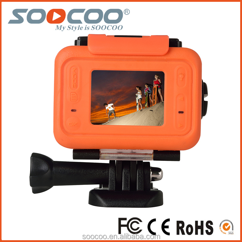 SOOCOO S70 WIFI Waterproof Sport Action Video camera with 2K Full HD 170 Degree Wide-angle Lens(add 1*battery 1*charger)