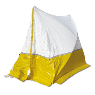 Work Tent 250*200*190, pitched roof, color blue or yellow