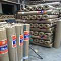 Anping 1/4'' 1/2'' 1'' square opening BWG12 - 26 Galvanized iron wire welded wire mesh, nets export to india (I - 043)