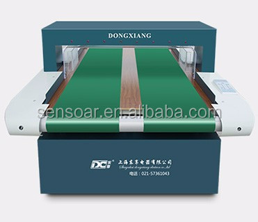 Conveyor belt professional wide tunnel needle metal detector for garment toy industry.garment industry needle detector detector