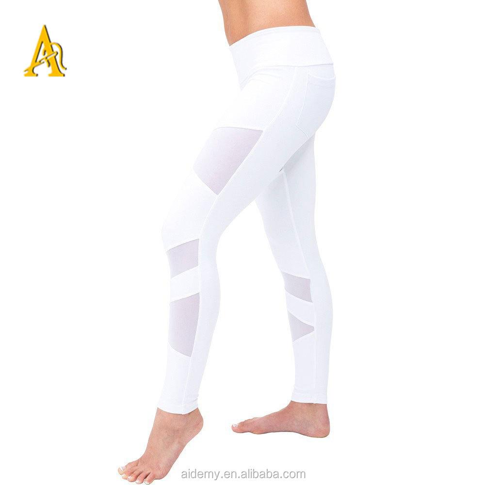 SEXY Lycra Spanndex Glanz Capri Leggings Gr:S/M -