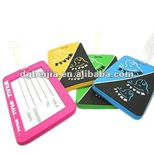 Promotion Item Silicon Rubber Airline Travel Luggage Tags