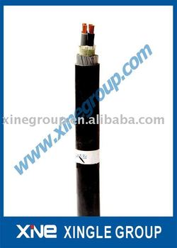 PVC Insulated Steel wire armoured Cable