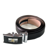 Automatic Removable buckle genuine leather perfume mens work belts
