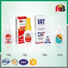DY502 Promotional top quality exclusive glue super glue 502 for magnet materials