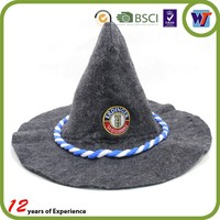 Party Carnival Funny cheap christmas cap Crazy clown wizard hat