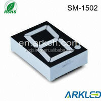"1.5"" inch factory price 1 digit seven segment led display,hot selling"