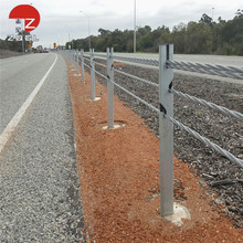 Hot Dip Galvanized Roadside Guardrail from Highway Guardrail Manufactuer