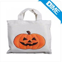 Inflatable Halloween Decorations Cotton Bag Handle Drawstring Canvas Bag Costumes Wholesale Custom Fashion Canvas Duffle Bag