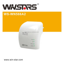 AC750 wireless repeater, dualband Wirelss wifi AP, More range for every WLAN network
