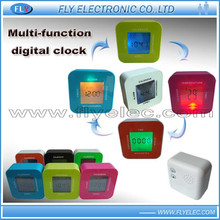 Mult-function LCD alarm table Clock /Time/ thermometer/timer /calendar function