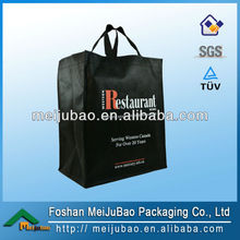 Hot sell handle non woven polypropylene tote bag for marketplace