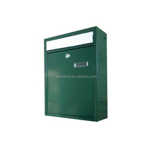 Galvanized steel mail box letter boxes newspaper box