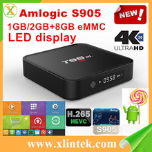 2GB/8GB T95M Android5.1 TV box 4K Amlogic S905 Quad Core 2GHz KODI 16.0 Fully loaded Bluetooth 4.0 Streaming media player Roote