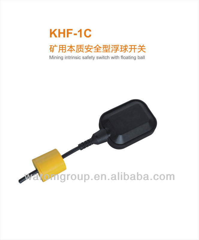 Mining intrinsic safety switch with floating ball